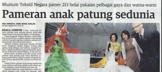 Utusan Malaysia_10-July-2013_ms25_Pameran anak patung sedunia
