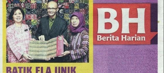 Berita Harian_26-Sep-2012_msF3_Batik ela unik tersendiri