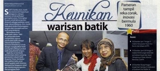 Berita Harian_07-Dec-2011_ms18_Keunikan warisan batik