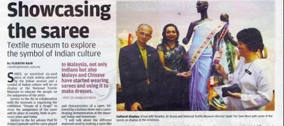 Star Metro_10-Sep-2011_ms8_Showcasing the saree