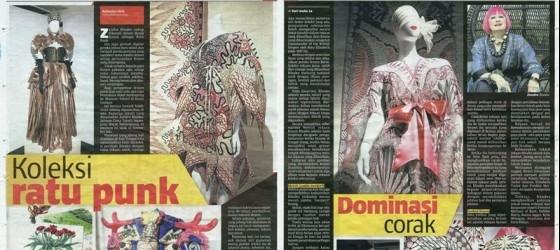 Berita Harian_17-Nov-2013_ms23amp24_Koleksi ratu punk