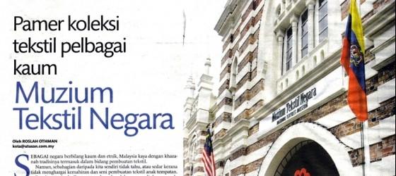 UTUSAN MALAYSIA_15-JAN-2010_MS1_MUZIUM TEKSTIL NEGARA