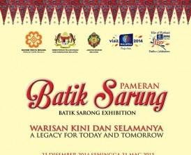 Pameran Batik Sarung: Warisan Kini dan Selamanya