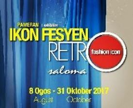 Pameran Ikon Fesyen Retro Saloma